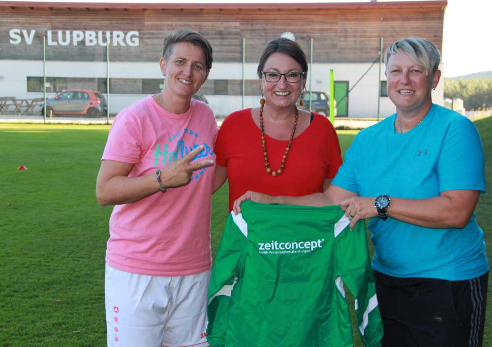 zeitconcept sponsert den SV Lupburg